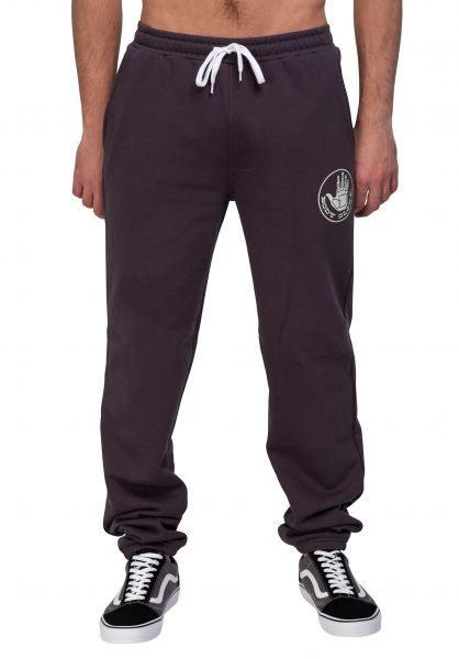 Body Glove Jogginghosen Backtrack Pant washedblack vorderansicht 0680227