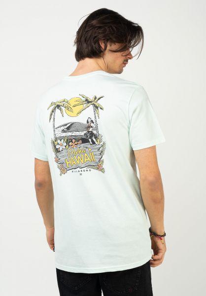 Billabong T-Shirts Dreamy Places seaglass vorderansicht 0323684