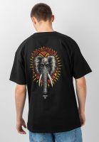 powell-peralta-t-shirts-vallely-elephant-black-vorderansicht-0398799