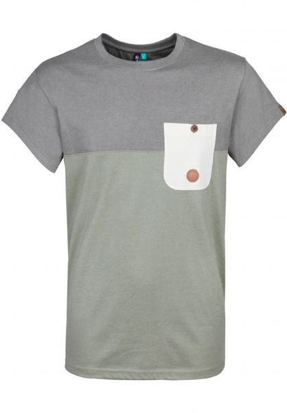 alife-&-kickin T-Shirts Leo dust Vorderansicht
