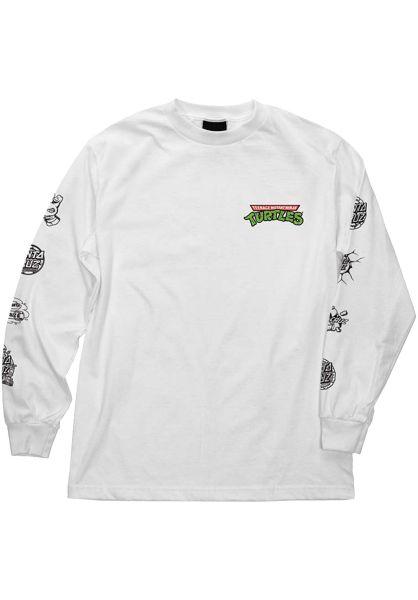 Santa-Cruz Longsleeves TMNT Mutagen white vorderansicht 0383129