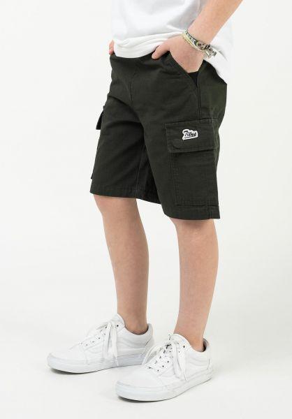 TITUS Shorts Lono Kids darkolive vorderansicht 0551926