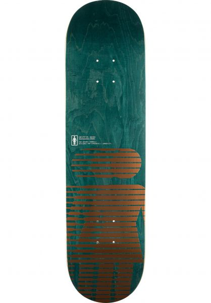 Girl Skateboard Decks Howard Hero Pop Secret metallic-copper vorderansicht 0265167