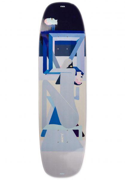 UMA Landsleds Skateboard Decks Colman Maite Headroom Shape lightblue vorderansicht 0267193