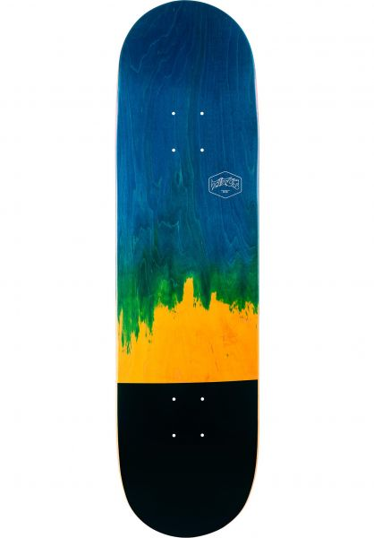 TITUS Skateboard Decks Dip Color-Fade blue-yellow vorderansicht 0260585