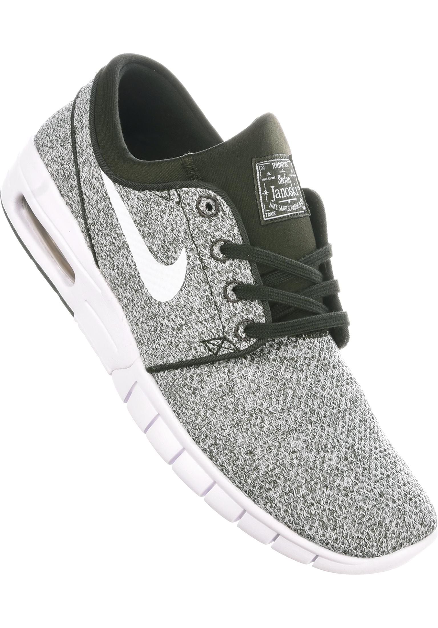 Stefan Janoski Max Nike SB All Shoes in sequoia-white for Men  caed91ccd