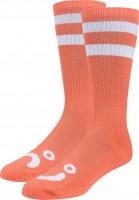 Polar Skate Co Socken Happy Sad Classic orange Vorderansicht