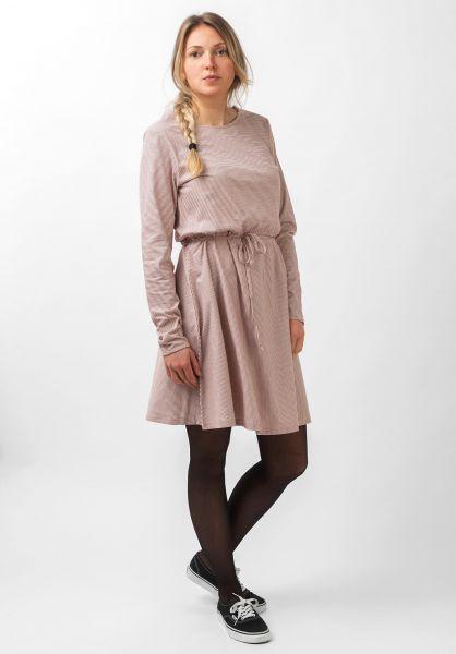 Forvert Kleider Tiffy beige-red vorderansicht 0801533