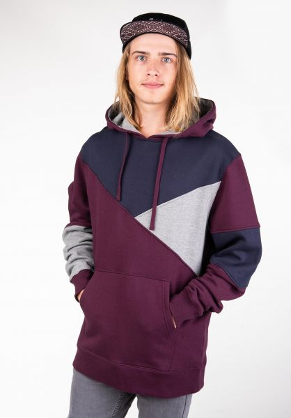 Rules Hoodies Melman darkburgundy vorderansicht 0444837