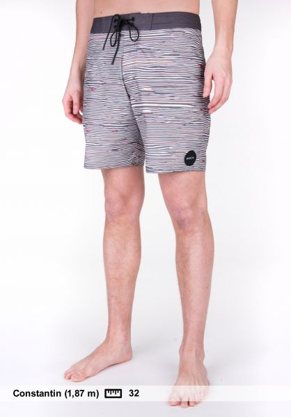RVCA Beachwear Flinch Trunk black Vorderansicht