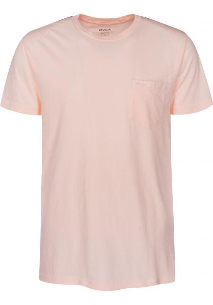 RVCA T-Shirts PTC 2 Pigment rosewater Vorderansicht