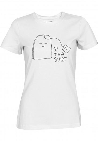 Forvert T-Shirts Columbia white Vorderansicht