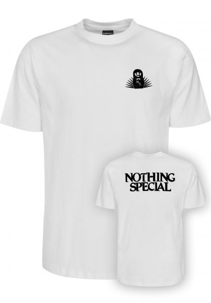 Nothing Special T-Shirts Bearing Mother white vorderansicht 0399595