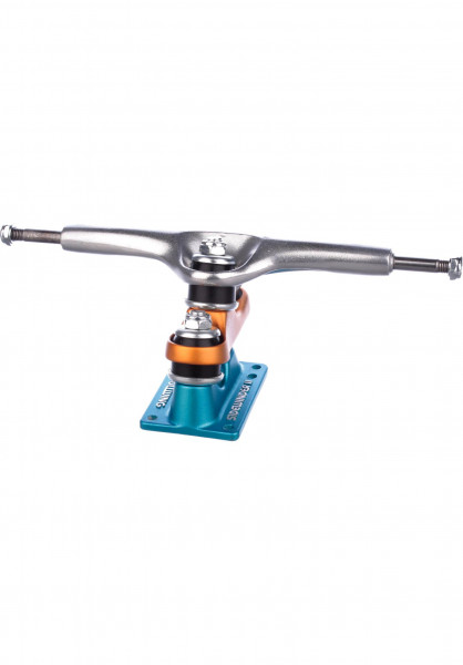 "Gullwing Achsen 10"" Sidewinder II 180mm blue-orange Vorderansicht"