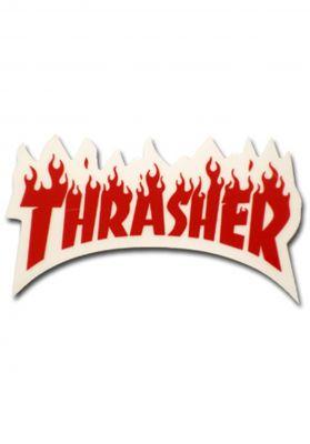 Thrasher Flame Sticker Small