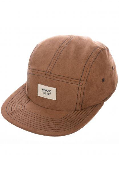 Wemoto Caps Studio brown vorderansicht 0566548