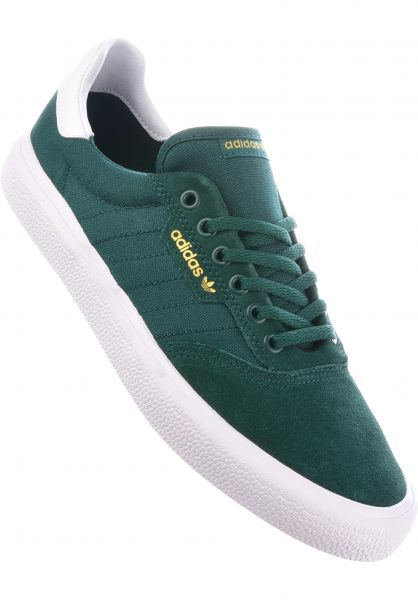 adidas-skateboarding Alle Schuhe 3MC collegiategreen-white-green Vorderansicht 0604427