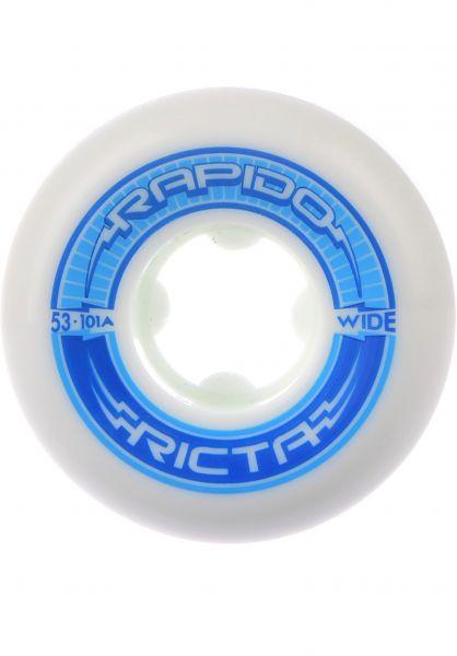 Ricta Rollen 52mm Rapido Wide 101a white Vorderansicht