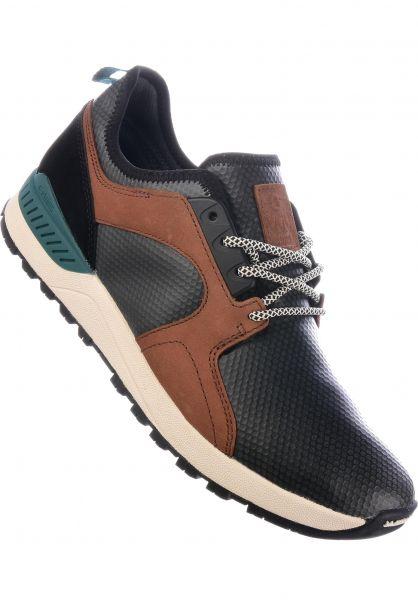 etnies Alle Schuhe Cyprus SCW black-brown-green Vorderansicht