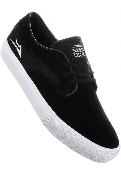 Lakai Alle Schuhe Riley Hawk x Hard Luck black Vorderansicht