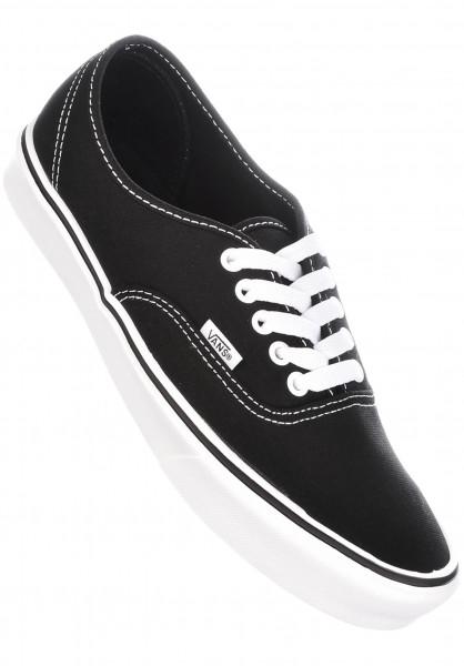 Vans Alle Schuhe Authentic Lite black-white Vorderansicht