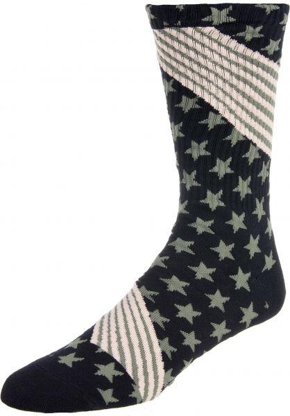 HUF Socken HUF USA woodlandcamo Vorderansicht