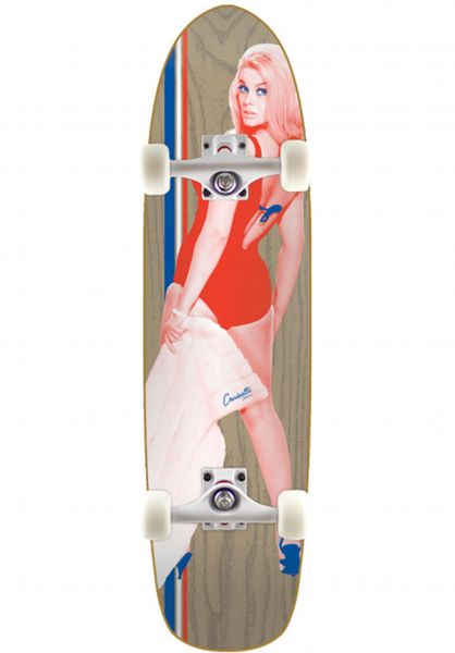 Cruisette Skate Co. Cruiser komplett Ann natural vorderansicht 0252514