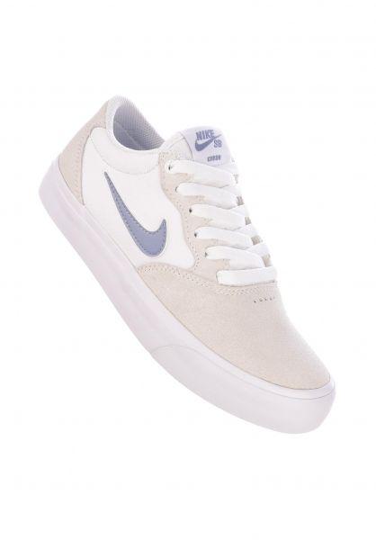 Nike SB Alle Schuhe Chron Solarsoft white-ashenslate-white-white vorderansicht 0612573