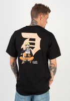 primitive-skateboards-t-shirts-ichiraku-dirty-p-black-vorderansicht-0322336