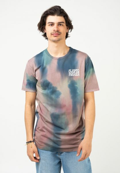 Cleptomanicx T-Shirts Hippies white vorderansicht 0322984