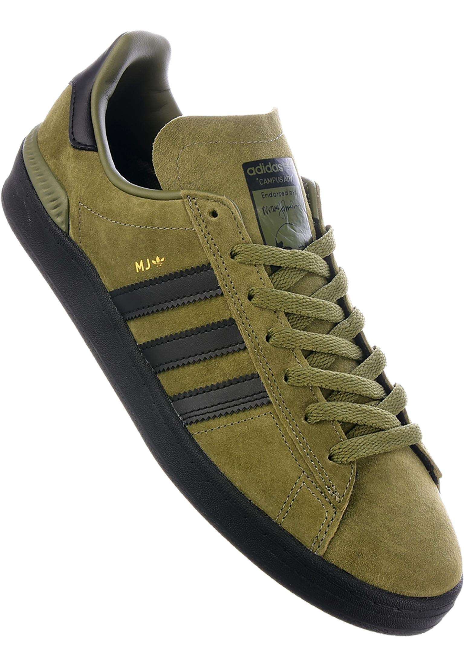 best service 3e5a2 368e2 Campus ADV MJ adidas-skateboarding All Shoes in olivecargo-white for Men    Titus