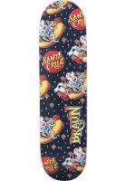 santa-cruz-skateboard-decks-braun-hotdog-everslick-black-yellow-vorderansicht-0264425