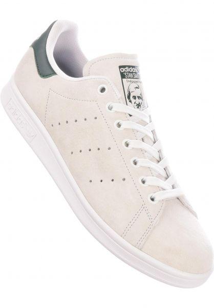 adidas-skateboarding Alle Schuhe Stan Smith ADV crystalwhite-mineralgreen vorderansicht 0604827