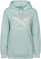 iriedaily Hoodies Big Flag mint Vorderansicht