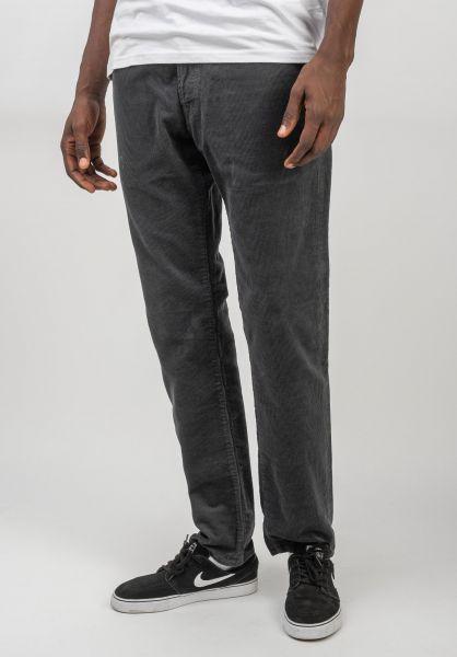 Carhartt WIP Jeans Klondike Pant blacksmithrinsed vorderansicht 0269056