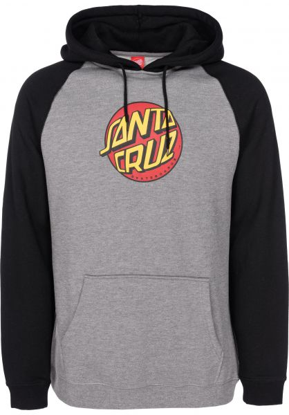 Santa-Cruz Hoodies Fish Eye Dot black vorderansicht 0445033