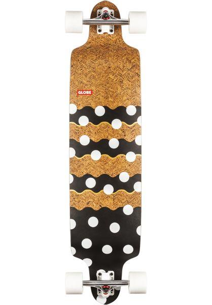 Globe Longboards komplett Bannerstone cork-dots vorderansicht 0195284
