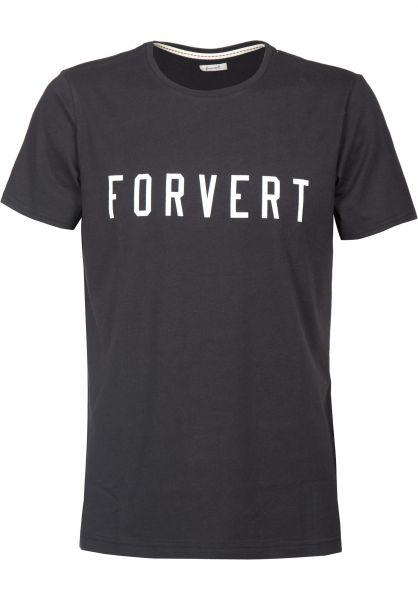Forvert T-Shirts Lloyd black Vorderansicht