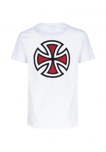 Independent T-Shirts Youth Bar Cross white unteransicht 0321691