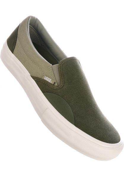 Vans Alle Schuhe Slip-On Pro grapeleaf-laureloak vorderansicht 0603931