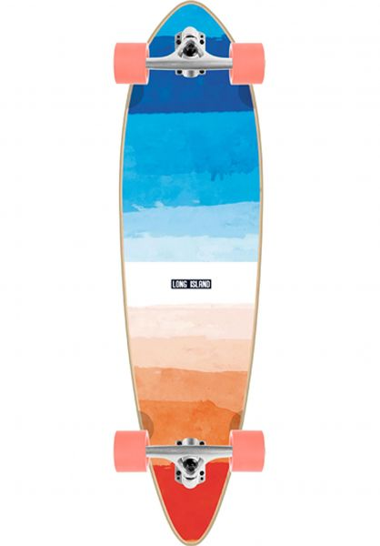 Long Island Longboards komplett Towel Essential 36´´ Pin multicolored vorderansicht 0194312