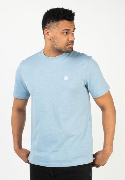 Element T-Shirts Crail fadeddenim vorderansicht 0323375