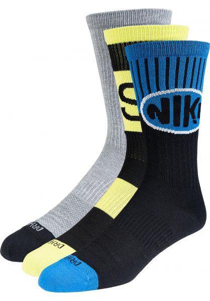 Nike SB Socken Everyday Max Lightweight multicolor-cyber vorderansicht 0631988