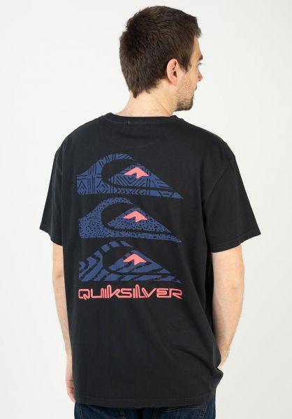 Quiksilver T-Shirts OG Quick Totem black vorderansicht 0323171