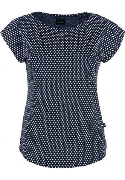 Forvert T-Shirts Laurentina navy-dots vorderansicht 0320110