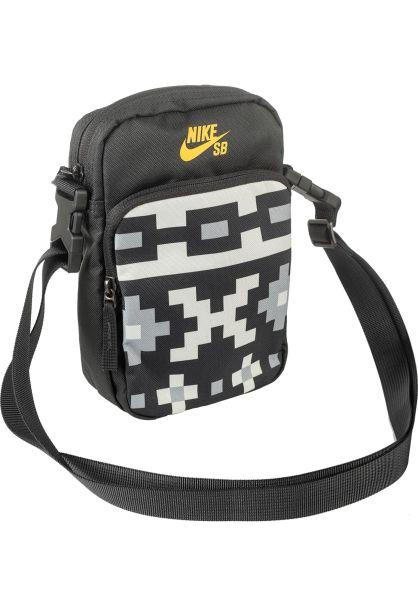 Nike SB Taschen Heritage Smit anthracite-sail-darksulfur vorderansicht 0891619