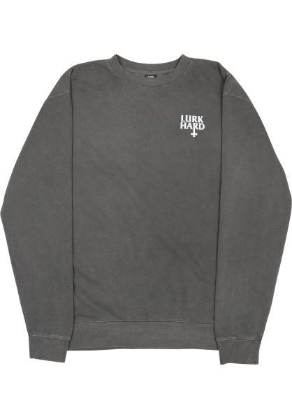 Lurk Hard Sweatshirts und Pullover Flag Crewneck black vorderansicht 0422666