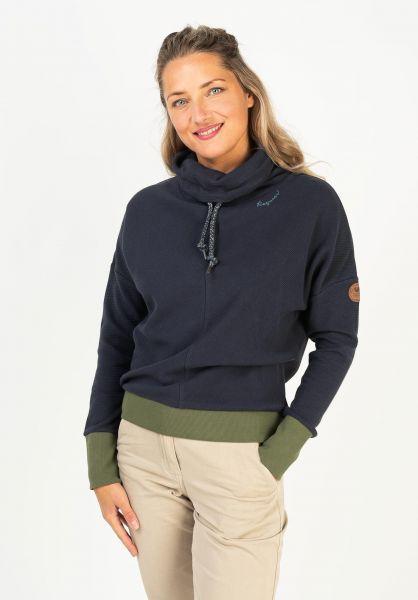 Ragwear Sweatshirts und Pullover Balancia Organic navy 320 vorderansicht 0422989