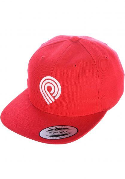 faec3b7c72a Powell-Peralta Caps Triple P Snapback red vorderansicht 0565135