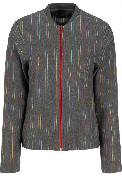 Forvert Sweatshirts und Pullover Liz greymelange-multi vorderansicht 0122734